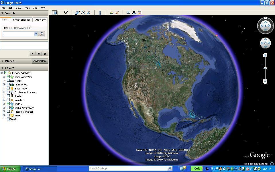 google digital earth images