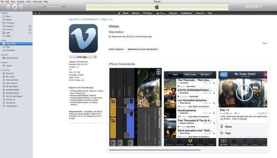 Vimeo App