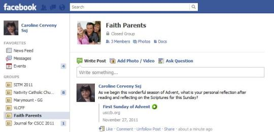 Advent FB Reading