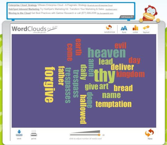 ABCYD Word Cloud