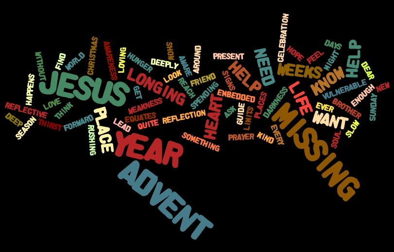 An Advent Wordle Prayer Experience (3/3)