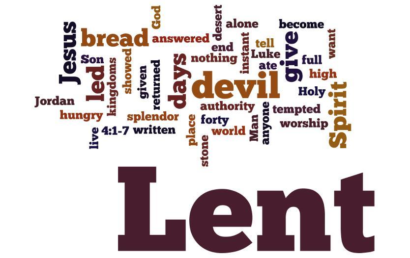 Lent online video discussions