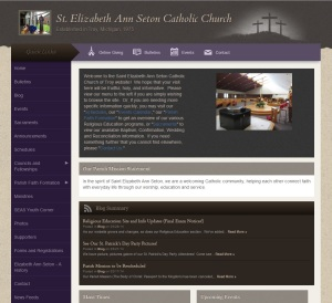 St. Elizabeth Seton Website.