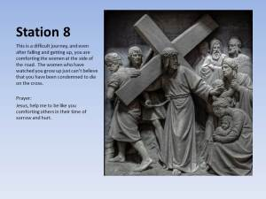 Example of a Station of the Cross PPT Slide